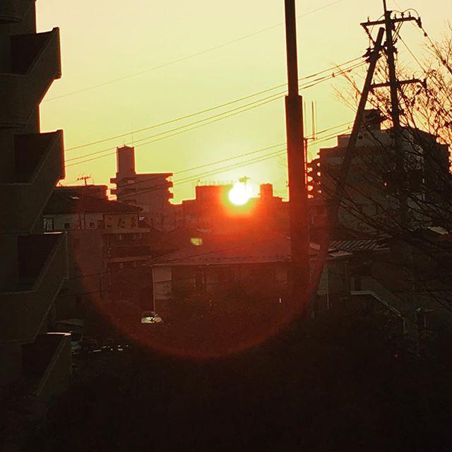 朝陽がとても綺麗な今朝は、早起きをして仙台から福島へ(^ ^)つみきは今日も通常営業します♪ #健康整体の家つみき #健康整体 #操体法 #女性スタッフ #福島市 #fukusima #仙台 #ボテフォレパン #朝陽 #早起き