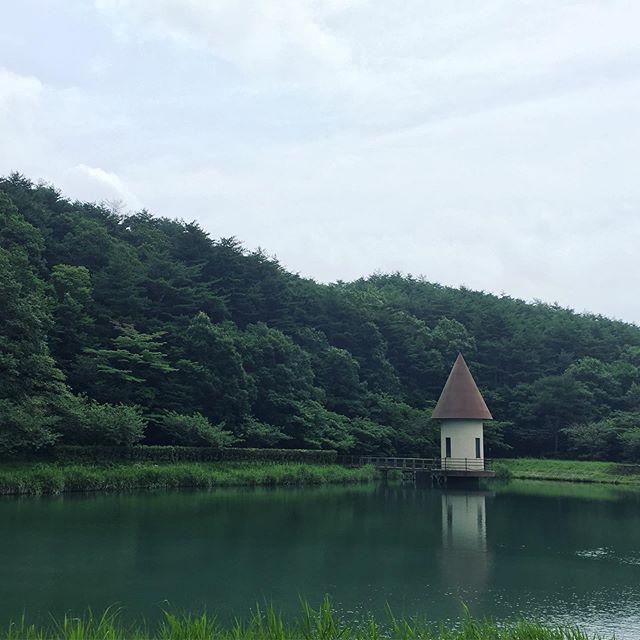 健康部でウォーキング二本松の岳温泉周辺を散策しました♪気持ちいい風が吹いていて最高!