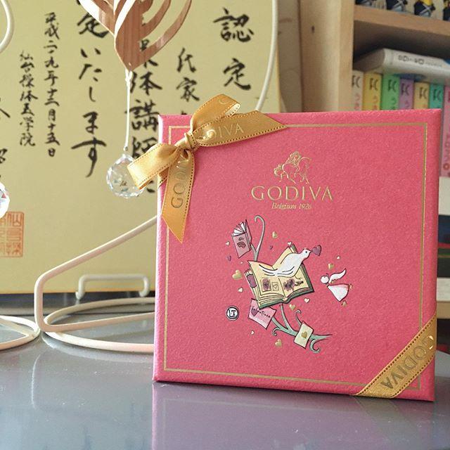 お客さんからバレンタインのチョコ頂いちゃいました〜♡感謝